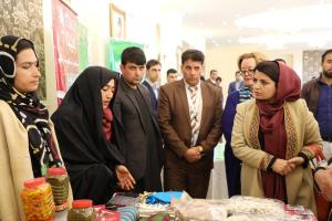 H.E. Ms. Kamila Sidiqi intercting with women entrepreneurs in Herat Province on 29th Nov 2017